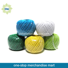 Multi Colored 3-Strand Twisted Cotton Rope