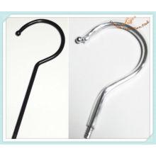 Ganchos de suspensão de metal para cabide de roupas