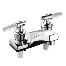 """4"""" Cencter Set Lavatory Plastic Faucet (smooth and easy opening)"""