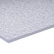 Folha contínua Folha de acrílico folha sólida Folha de policarbonato Fabricante Folha em relevo