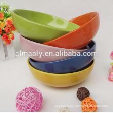 Cuenco de cerámica de alta calidad china de hueso con diseño popular