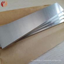 Feuille de titane de zirconium de la meilleure qualité 702 pour l'essai