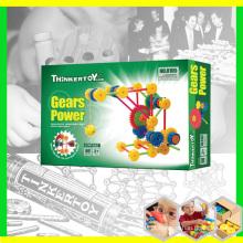 Brinquedo pré-escolar DIY plástico para crianças