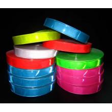 Ruban d'avertissement de PVC réfléchissant à haute visibilité dans des couleurs assorties