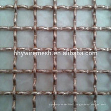 galvanized woven mesh crimped net lock types woven wire screen crimped wire mesh