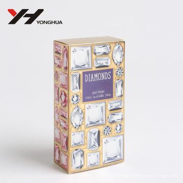 biling biling biling biling brillant rose boîte de papier de parfum