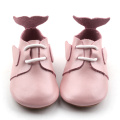 Cute Dolphin Colorful Girl Dress Leather Shoes