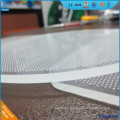 Transparent acrylic plastic plexiglass light guide panel