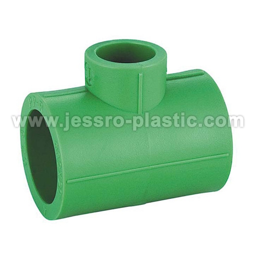 Ppr fittings reducing tee china manufacturer