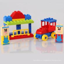 Новые 18ШТ здание Пластиковые блоки игрушки