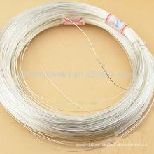 DIY 0.3mm-1.0mm cadenas de alambre de plata esterlina o pulsera de cuentas accesorios especiales SEF006