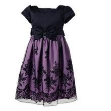 vestido de encaje completo para niños