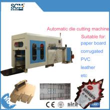 Leather, PVC Corrugated, Paper Die Cutting Machine