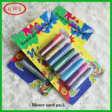 Stationery set bright color glitter glue for party decoration