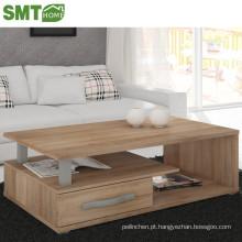 mesa de café moderna mesa de centro de madeira sala de estar