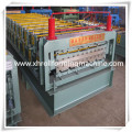 Colorful Galvanized Metal Roofing Sheet Double Layer Roll Forming Machine