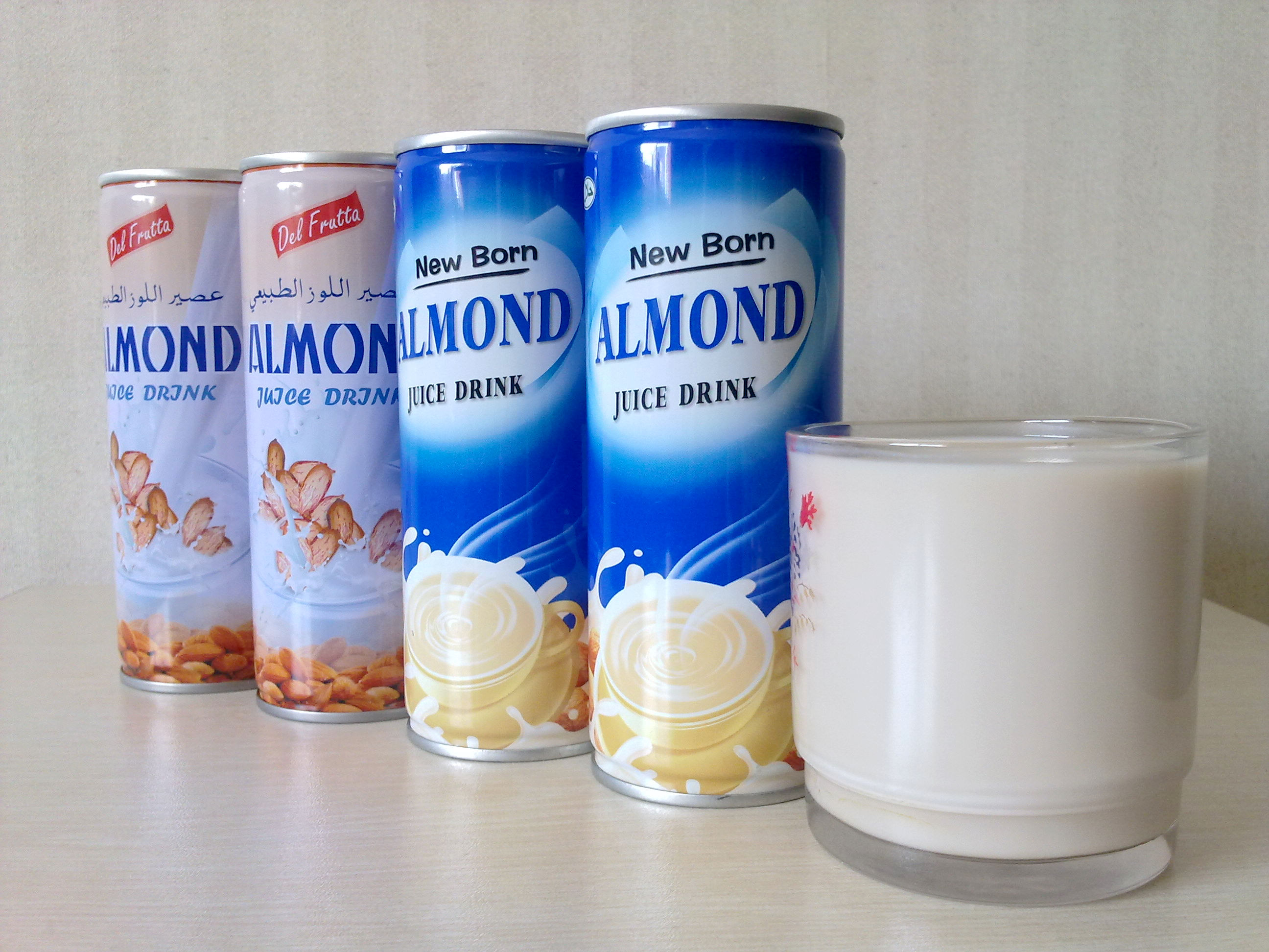 Plant protein beverage- healthy almond juice drink