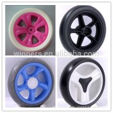 6 ruedas de cochecito de bebé bicicleta de plástico de 6 pulgadas