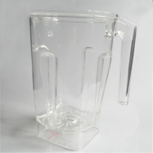 Moldagem por injeção de reação de copo PMMA Juicer transparente