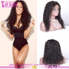 Perruques afro courtes normales pour les femmes noires provoquées par l'homme brésilien bouclés perruques vente chaude bouclés afro perruques de cheveux humains pour femmes noires
