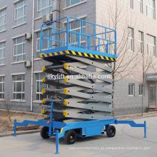 Elevador de tesoura eletro-hidráulica móvel