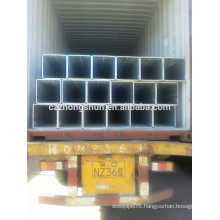 welded square steel hollow section GI
