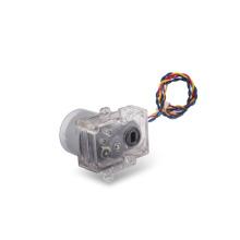 Motor da engrenagem do motor 3V da CC da escova da escova do metal do Bi-sentido mini para o medidor de água (KM-36F1-500)
