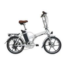 Alloy Wheel Folding Electric Bike brushless motor With 20 I