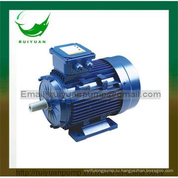 CE одобрил 4 полюса 0.55 кВт серии y2 трехфазный асинхронный Электрический Двигатель