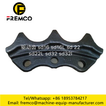 Repuestos para chasis de excavadora PC200-7 Sprocket