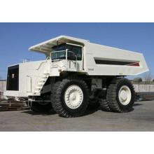 Volquete de camión volquete de minería de carbón