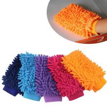 luva de lã de microfibra vermelha luva de pó