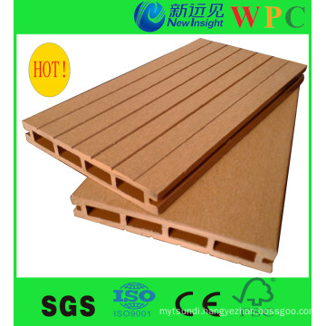 Cheap! ! Popular Outdoor WPC Composite Decking with CE, SGS, Europe Stnadard