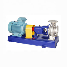 IH series horizontal stainless steel centrifugal chemical pump