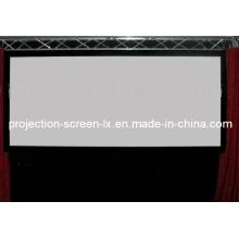 Tissu d'écran de projection en PVC (LX-T-002)