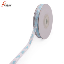 Foot Printed Organza Ribbon