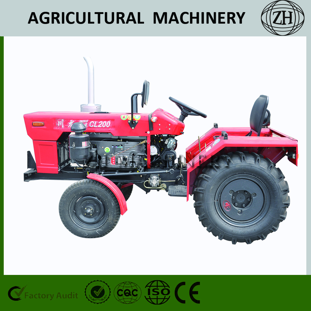 4 Wheel Mini Tractor For Brazil Market With Cheap Price