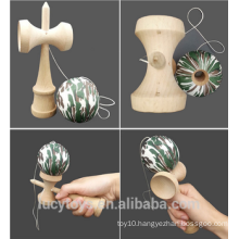Hot Selling Wooden Skill Ball Game Wooden Kendama Toy