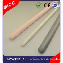 Tube de protection de thermocouple de nitrure de silicium