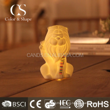 Cheap modern home decoration lion led table lamp from China