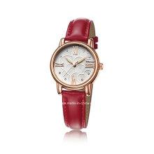 Neue preiswerte Art- und Weisequarz-Diamant-Damen-Armbanduhr