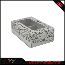 2017 new design tea packing Transparent plastic clear PVC box