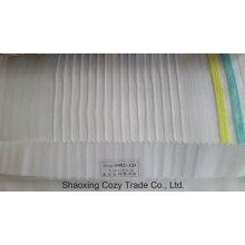 Nouveau tissu de rideau transparent Organza VoIP de rayures de projet populaire 0082125