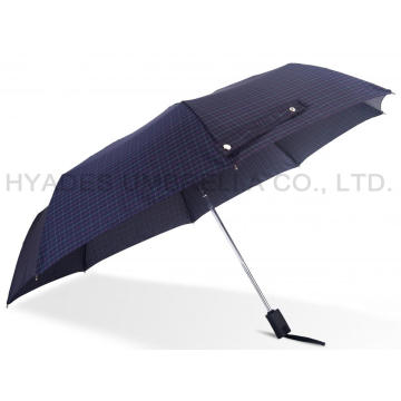 Centang Print Auto Open And Close Folding Umbrella