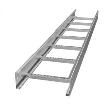 Bandeja de cabo de aço flexível tipo escada e entroncamento