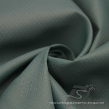 Imperméable à l'eau Vêtements de sport en plein air Veste en coton Tissé en tissu et pavot DOT Jacquard 100% Tissu en nylon (N042)