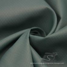 Water & Wind-Resistant Sportswear ao ar livre Down Jacket Woven Plaid & Peacock DOT Jacquard 100% tecido de nylon (N042)