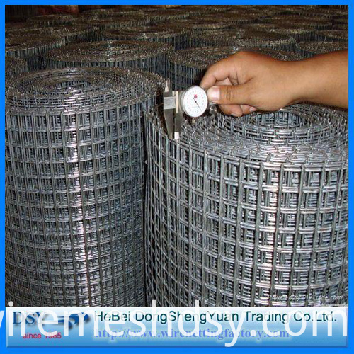"Low Price 1"" Welded Wire Mesh"