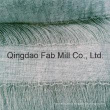 100% Linho Oco para fora tecido de linho (QF16-2537)