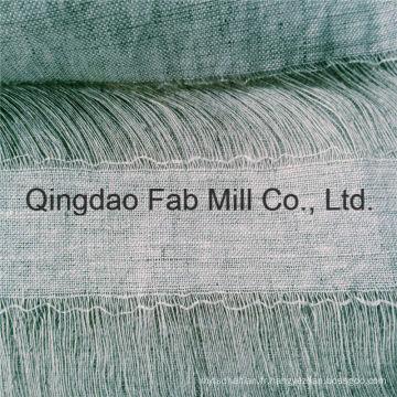 Tissu de lin en lin 100% linéaire (QF16-2537)